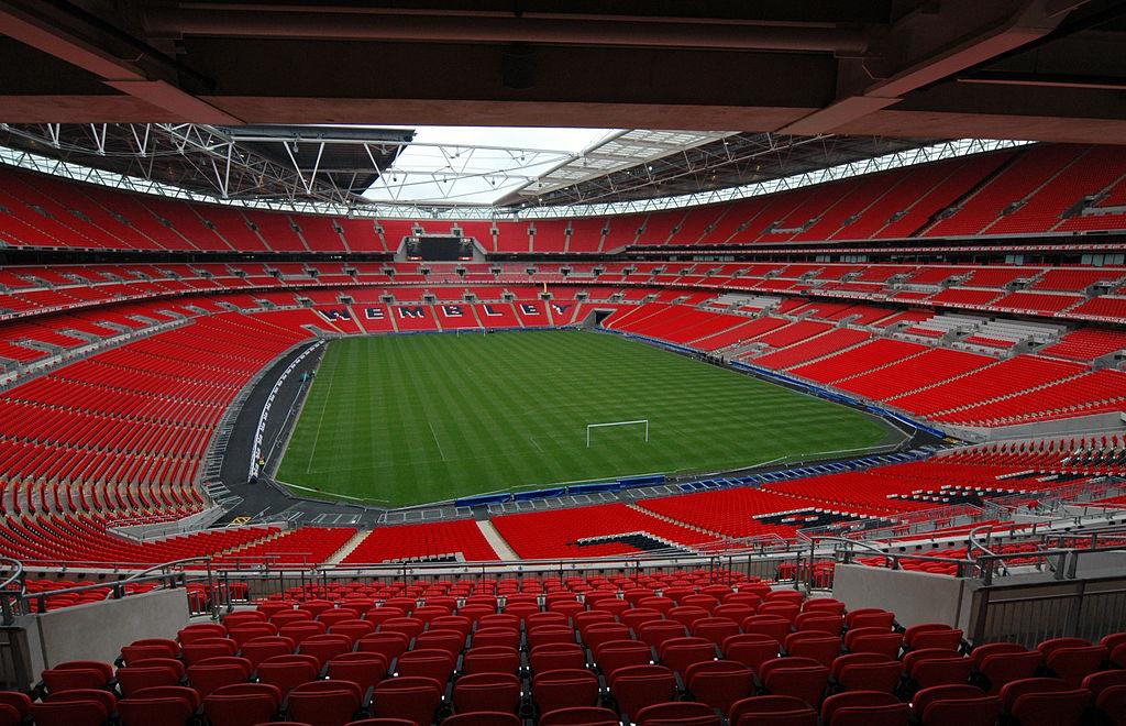 A catedral do futebol inglês.