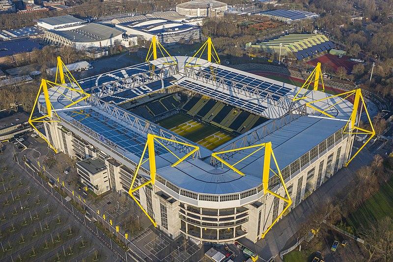 A casa do Borussia Dortmund