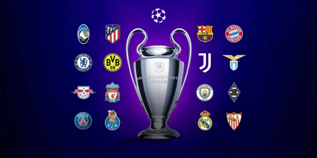 16 grandes jogos pelas Oitavas da Champions League